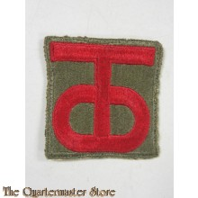 Mouwembleem US 90e Infanterie Divisie  (Sleeve badge US 90th Infantry Division)