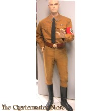Uniform Blockleiter der NSDAP  (NSDAP Blockleiter uniform set)