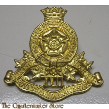 Cap badge 17th Duke of York's Royal Canadian Hussars