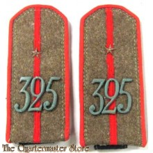 Shoulderboards WW2 Russian 325 Artillery Regiment