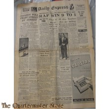 Newspaper Daily Express 15 july 1940