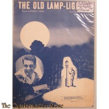 song text The Old Lamp-Lighter