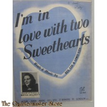 Book music/song/text in Love with two sweethearts 1940