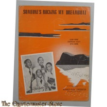 Book music/song/text Someone's Rocking My Dreamboat 1941
