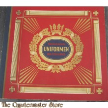 Uniformen Der Alten Armee. Published by Waldorf-Astoria Zigarettenfabrik, Munchen.
