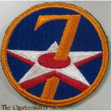 Mouwembleem 7th Air Force (Sleeve patch 7th Air Force)