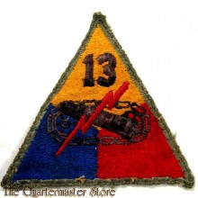 Mouwembleem 13th Armored Division (sleeve badge 13th Armored Division)