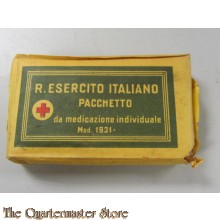 Verbands pakje Italie M1931 (First aid M1931 Italy)