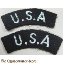 RAF 'U.S.A.' Shoulder Titles