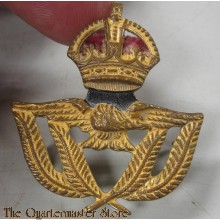 Early RAF Warrant Officers Cap Badge