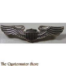 WW2 Sterling Silver USAAF Pilot Wings brooch/sweetheart