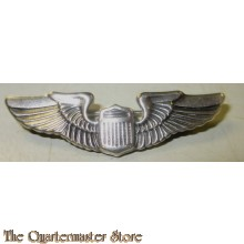 WW2 Sterling Silver USAAF Pilot Wings Pin