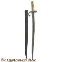 "French Model 1866 ""Chassepot"" Yataghan Sword Bayonet"