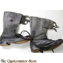British WW2 dispatch riders boots (britis WW2 motor laarzen)