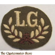 Qualification trade badge Lewis Gunner (First Class)