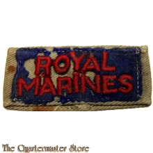 Slip on Royal Marines