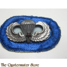 Airborne Oval 502 th Infantry Regiment 101th Airborne Division with wing and combat jump star