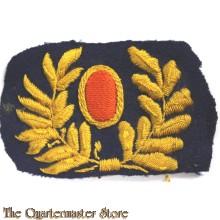 Kokarde voor grijsgroene platte pet M1912