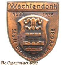 Veranstaltungsabzeichen Wachtendonk 1588 -1938 Stadt-Einnahme am 22.6.38
