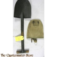 U.S. M1910 T Shovel  1942 dated with canvas carrier