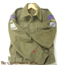 Battledress blouse officers P40 North Shore Reg New Brunswick  (Battledress jas P40 North Shore Reg New Brunswick)