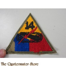 Mouwembleem 14e Armored Division (sleeve badge 14th Armoured Division)