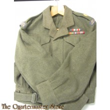 Battledress blouse officers P40 RCASC  (Battledress jas P40 RCASC)