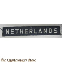 WW2 shouldertitle NETHERLANDS
