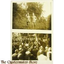 Postkarte Officiere und Civilisten WK1