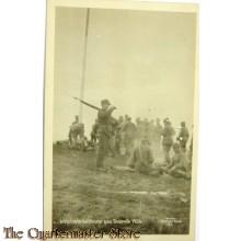Postcard Internerte hvitfinner paa Svanvik 1920