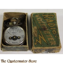 Radio voltmeter in doos 1938-40