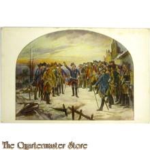 Postkarte 1914 Leuthen 1757