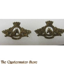Collar badges Prinses Louise Dragoon Guards