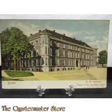 Prent briefkaart 1907 K.M. Academie Breda