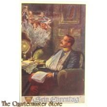 Patriotische briefkaart  Sein Ehrentag
