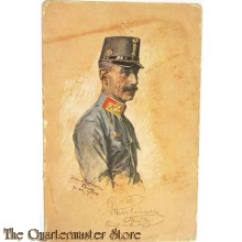 Postcard of Hungarian Officer WW1