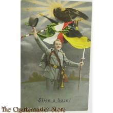 Patriotische briefkaart Eljen a haza !!