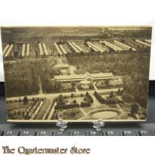 Prent briefkaart  mobilisatie 1914 Harskamp