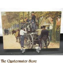 Prent briefkaart 1914 no 2 Keukenwagen