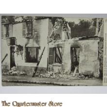 Carte Postale 1918 Senlin, Rue de la Republique, bombardement Allemagne