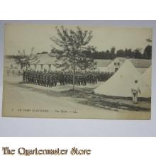 Carte Postale 1914 le Camp Dáuvours, une reveu