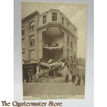 Carte Postale Bombardement van Antwerpen/Anvers