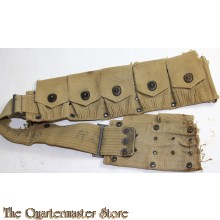 Part of Model M1910 10 Pockets,ammo belt
