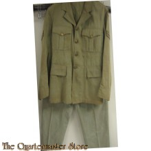 WWII Canadian RCAF Khaki Drill Tunic with pants