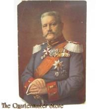 Postkarte General Feldmarschall v Hindenburg