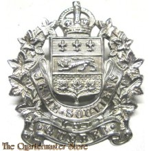 Cap badge Surete Provinciale du Quebec  (Kings Crown)