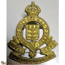 Cap badge Royal Canadian Ordnance Corps