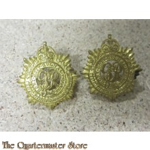 Collar badges officers  Royal Canadian Army Service Corps  RCASC