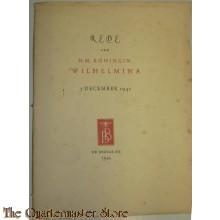 Rede van H.M. Koningin Wilhelmina 7 December 1942