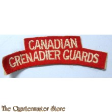 Shoulder title Canadian Grenadier Guards,  2nd Canadian Division